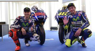 Frío saludo entre Rossi y Lorenzo en su reencuentro