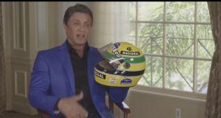 """Stallone: """"Ayrton Senna quiso que recreara su vida en el cine"""""""