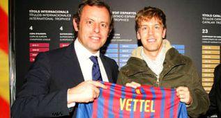 Si Messi alza el Balón de Oro... Vettel es campeón de F-1