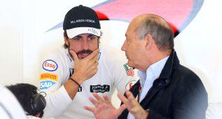 """Berger: """"Hoy no diría que Fernando Alonso es el mejor"""""""