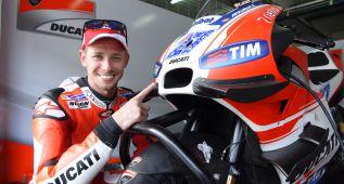 Casey Stoner 'regresa al futuro' con Ducati en Sepang