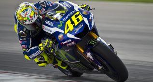 """Rossi: """"Lorenzo es más fuerte que yo en la frenada"""""""