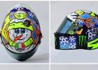 Rossi: un casco helado ante la fría relación con los españoles