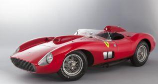 ¿El coche más caro del mundo? El Ferrari 335 S, estrella en París