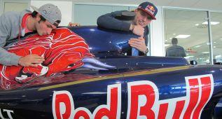 Sainz y Verstappen, amor a Toro Rosso en San Valentín