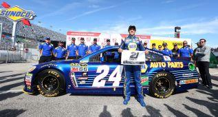 Chase Elliott, la pole más joven de la historia de la Daytona 500