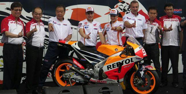 El Repsol Honda se presentó en Indonesia dispuesto a todo