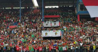La afición indonesia corea a los pilotos y espera un GP en 2017