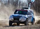AS probó el Mitsubishi con el que Gracia brilló en el Dakar