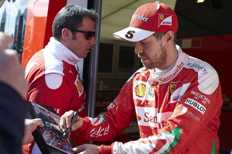 """Sebastian Vettel: """"Espero derrotar a los dos Mercedes"""""""
