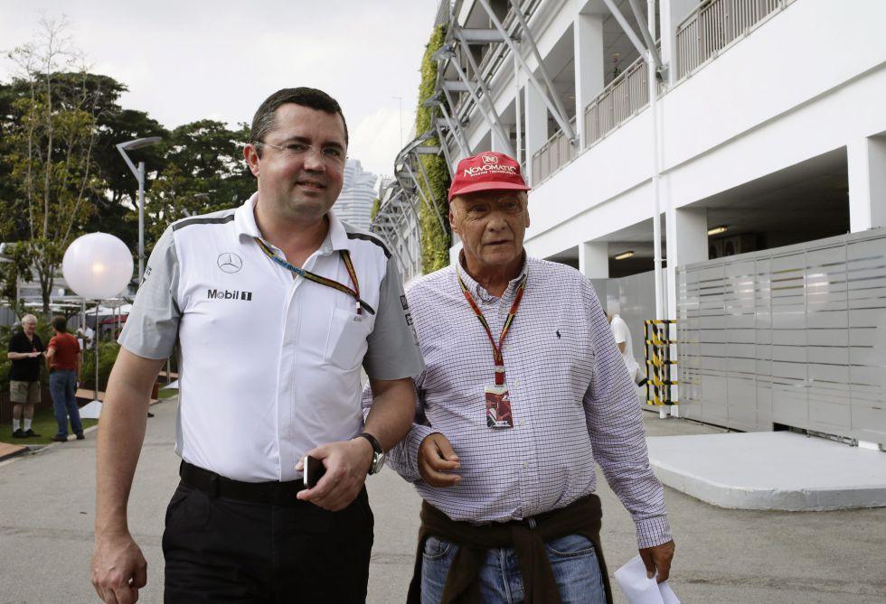 "Niki Lauda: ""McLaren luchará por victorias en 2017"""