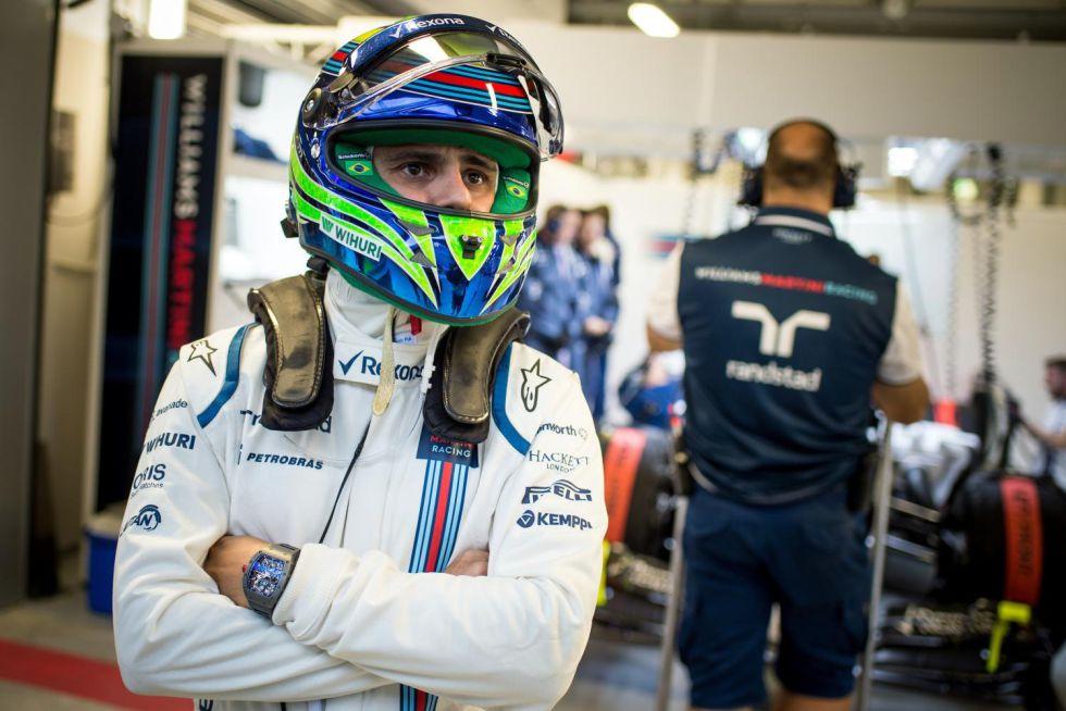 Massa quiere 2 o 3 años más de F-1 y elogia a Alonso y a Sainz