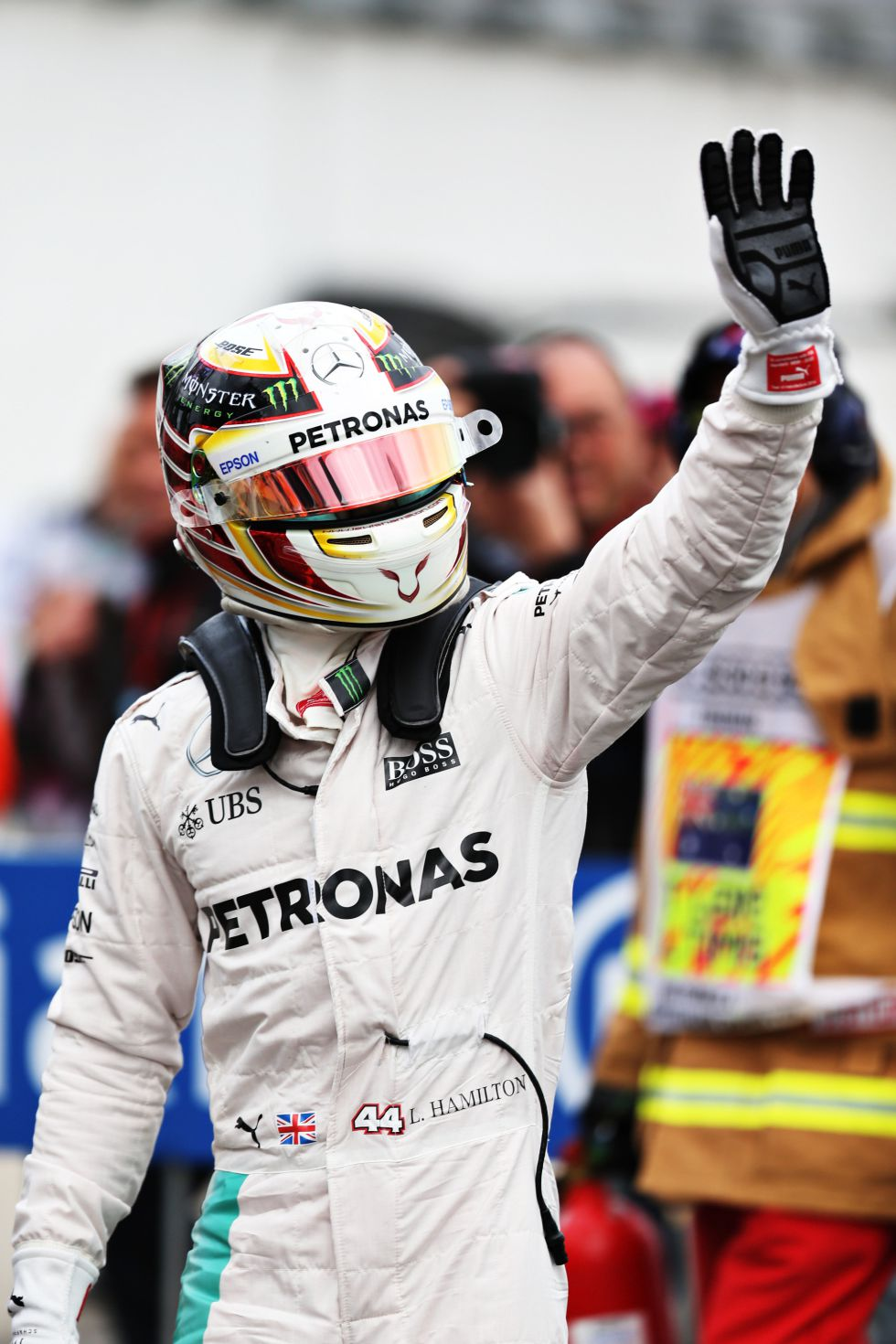 F1: Primera pole para Hamilton; Sainz saldrá 7º y Alonso, 12º