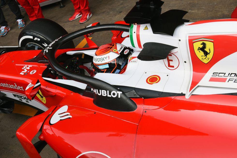 El accidente de Alonso reabre el debate de la necesidad del Halo.