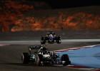 Rosberg vence por delante de Raikkonen y Hamilton