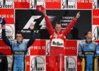 China vio la última victoria de Schumacher, la 91, en 2006