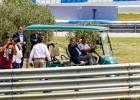 """La afición en Jerez: """"¡Que bote el rey! ¡Que bote el rey!"""""""