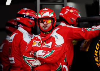 Ferrari echa de menos a Alonso