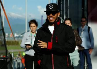 """Hamilton: """"El Halo es como un casco antidisturbios"""""""