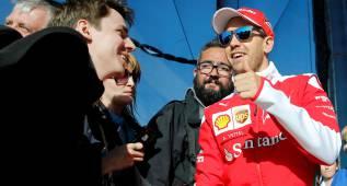 """Vettel: """"En Ferrari hay presión natural, no estoy preocupado"""""""