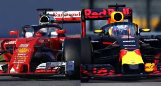 El Halo de Ferrari contra el de Red Bull, ¿cuál te gusta más?