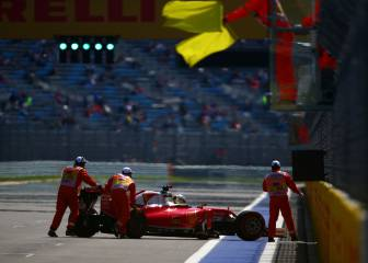 Vettel: 5 puestos en parrilla por cambiar la caja de cambios