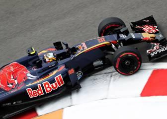 Toro Rosso, feliz con Sainz: