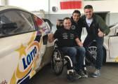 Albert Llovera, en el Mundial de Rallycross con el equipo Lotto