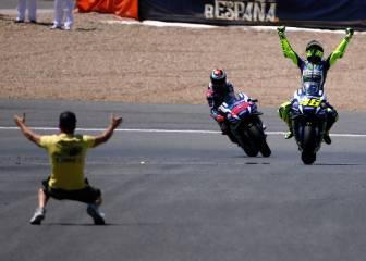 Rossi es el noveno ganador más veterano: 37 años y 68 días