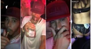 Lewis Hamilton 'comparte' sus juergas nocturnas
