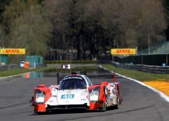 Roberto Merhi saldrá tercero de LMP2 en las 6 Horas de Spa