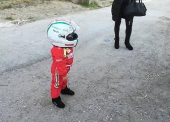 Un piloto de tan solo 2 años y medio cautiva a Italia