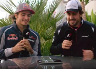 """Sainz a Alonso: """"Cuando te conocí solo podía elegir la F1"""""""