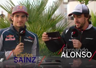 "Alonso a Sainz: ""Hulkenberg y tú, pilotos para mi equipo"""
