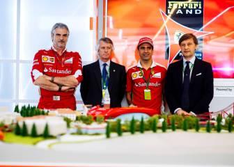 Ferrari Land en miniatura: la maqueta del parque temático