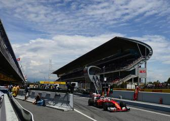 La clasificación del GP de España en imágenes