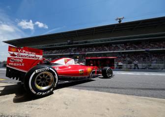 GP España F1: Clasificación en el circuito de Montmeló