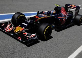 Sainz hereda desde Barcelona el chasis de Verstappen