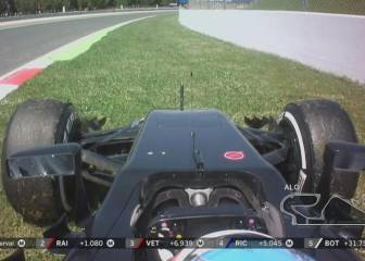 Alonso abandona tras fallar el McLaren en la vuelta 47