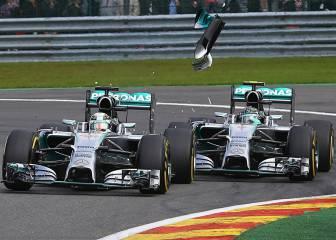EEUU, Bélgica... 5 polémicas más entre Hamilton y Rosberg