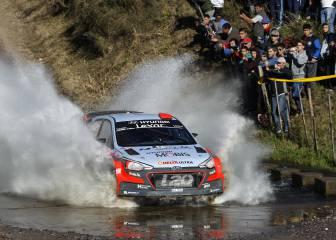 Dani Sordo corre en Portugal como si estuviera en casa