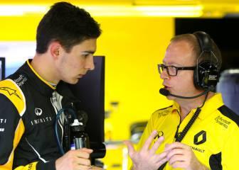 Ocon alaba el motor Renault... y Mercedes le deja sin test