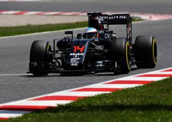 El motor de Alonso se apagó al entrar en corte de combustible