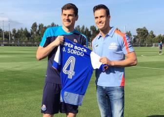 Dani Sordo visitó a Iker Casillas