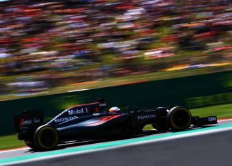 McLaren, el cuarto mejor chasis de la parrilla; Red Bull, manda