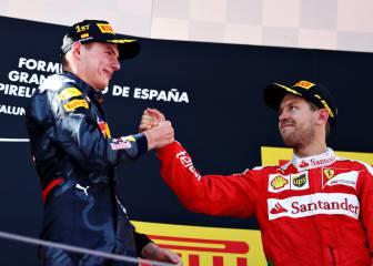 A Vettel no le afecta el récord de Verstappen: