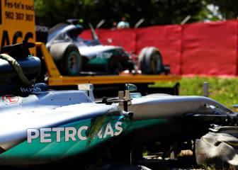 Mercedes revisa 1.200 piezas de los coches tras el accidente
