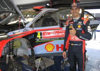 Sordo arranca segundo y con ganas en el Rally de Portugal