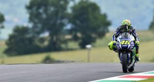 Rossi, el mejor frenador: de 351 km/h a 91 en 315 metros