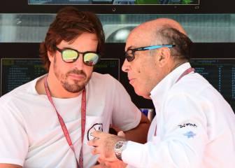 Alonso agradece a Lorenzo y Márquez el show de Mugello